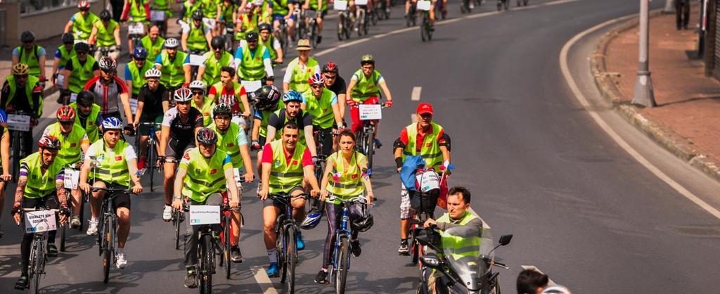 PAGÇEV'den Çevre Ve Sağlık İçin Bisikletli Destek