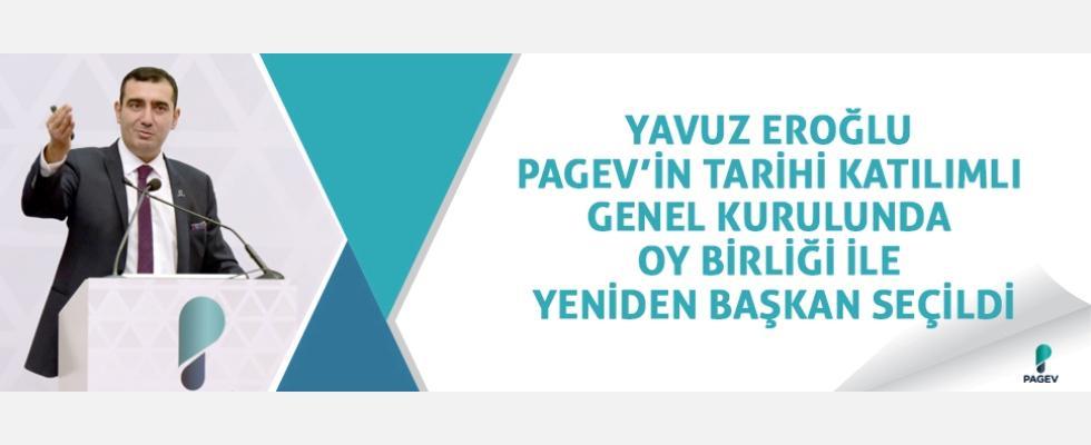 PAGEV'de Yavuz Eroğlu Oy Birliği ile Yeniden Başkan