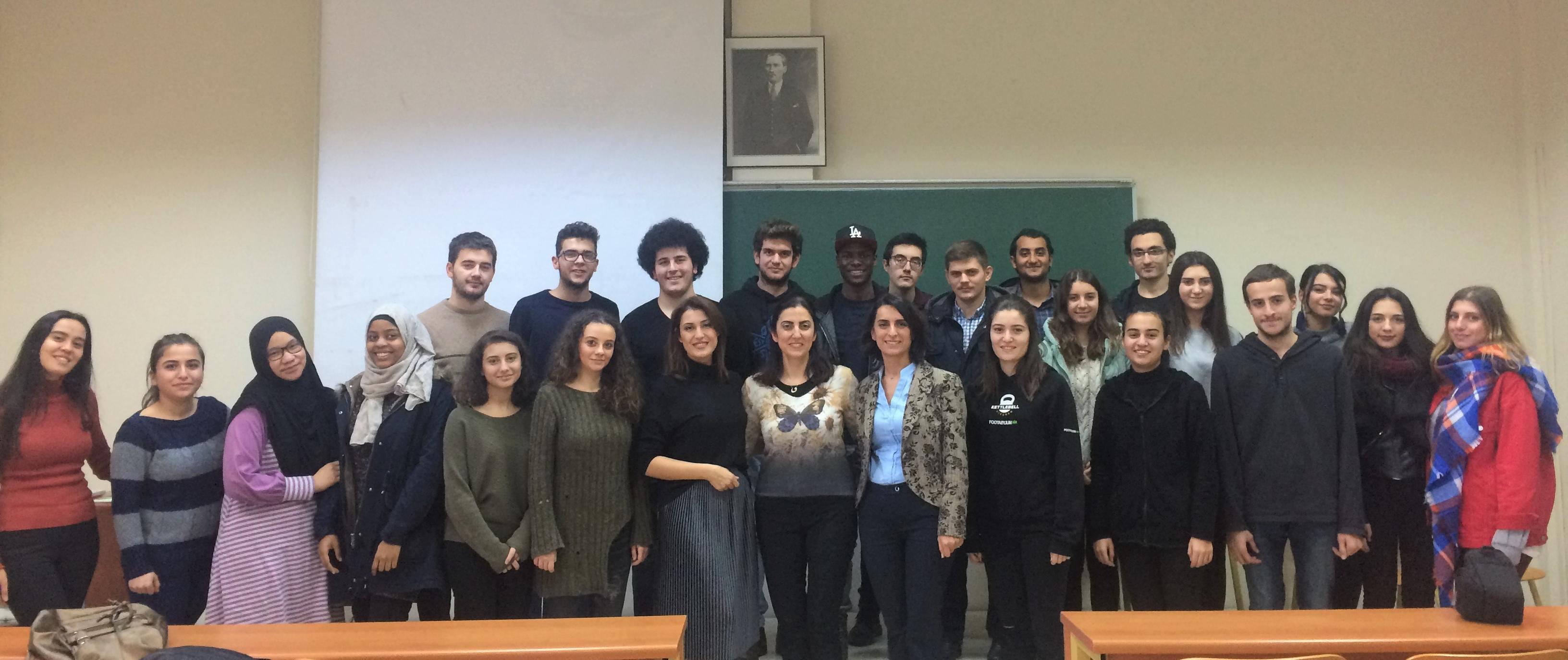 İstanbul Üniversitesi Kimya Mühendisliği Bölümü Öğrencileri İle Bir Araya Geldik