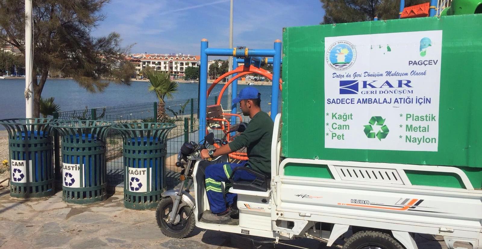 Ambalaj Atıklarını Toplamada Çevreci Bisiklet