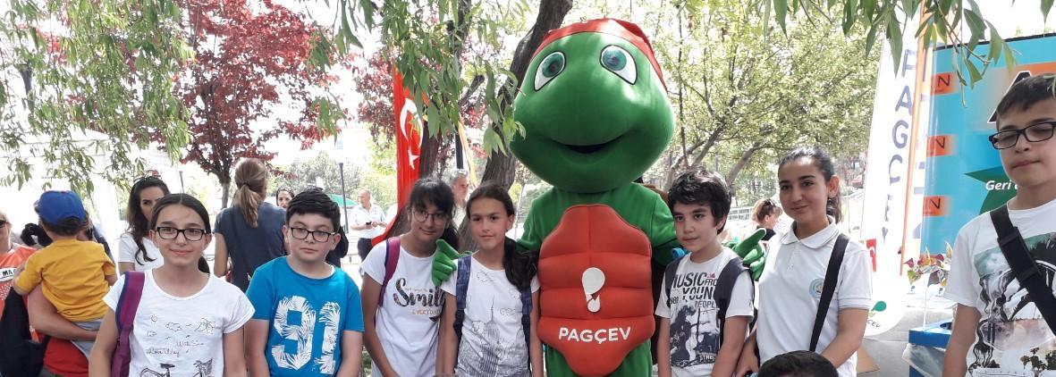 Çankaya Belediyesi 'Çevre Günü'nü Çocuklarla Kutladı